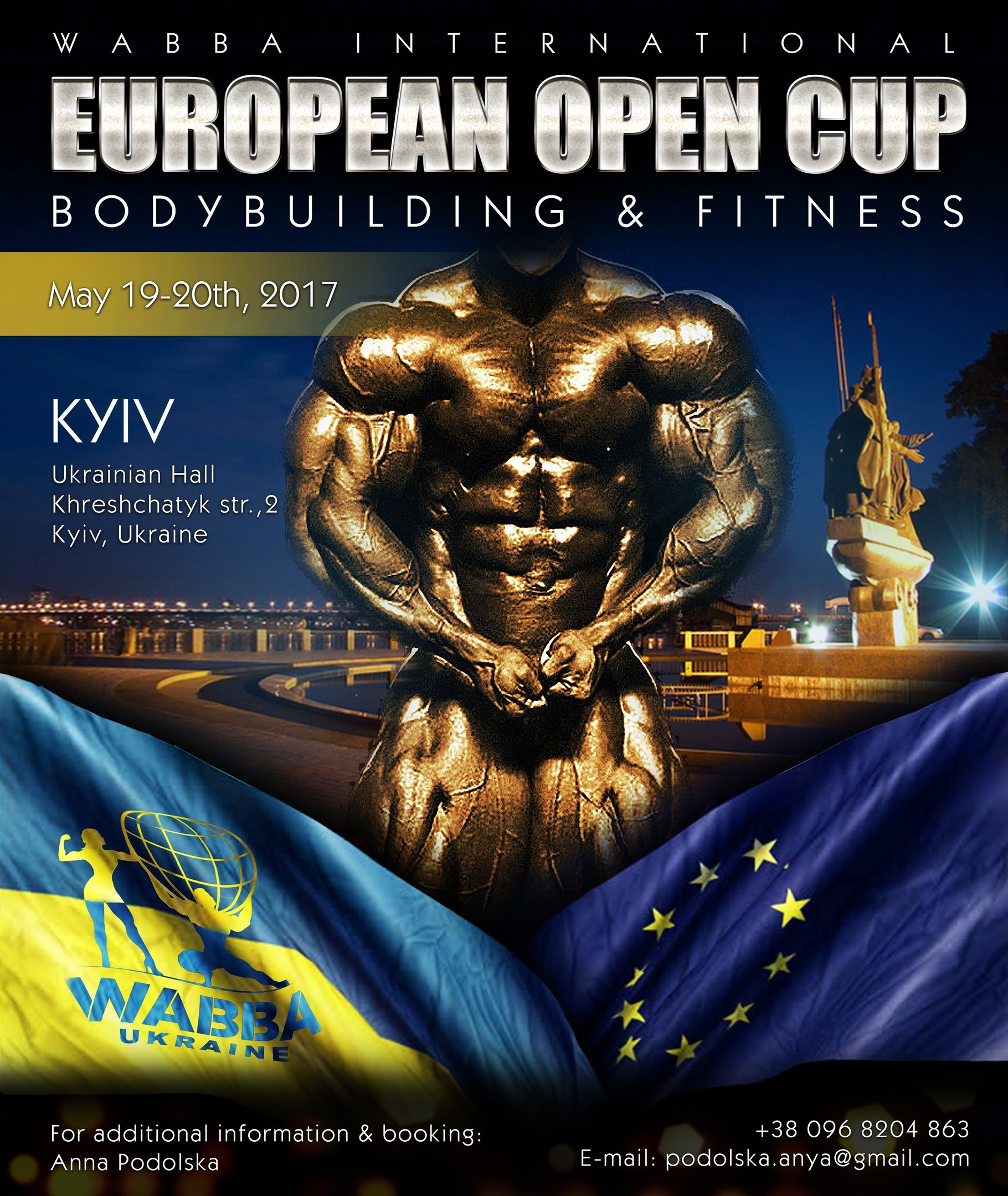 EUROPEAN OPEN CUP. Bodybuilding & Fitness