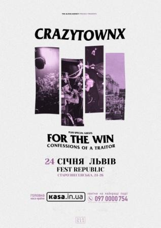 Crazy Town | Tour Poster (Eastern Europe)