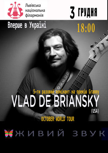 "Vlad De Briansky ""October"" World Tour"""