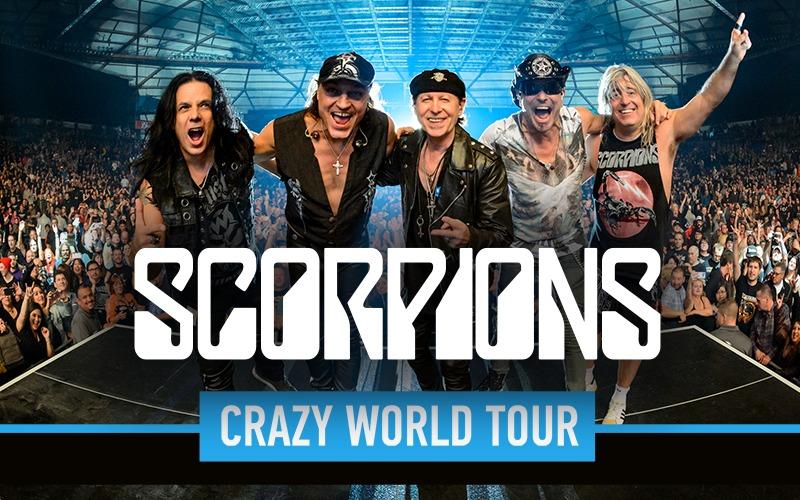 Scorpions.CRAZY WORLD TOUR